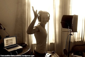 ME AND THE WHITE RABBITS - 'GROOVE ATTACK' - Vocal Recordings @Home Studio UK