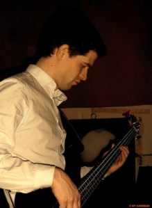 ME AND THE WHITE RABBITS Rehearsal - André Porter on Bass