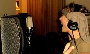 ME AND THE WHITE RABBITS - Vocal Recordings For The 1.Studio Album @ Home Studio UK 2014