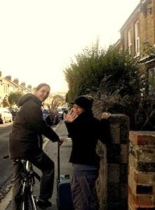 ME AND THE WHITE RABBITS - Percussion Recordings For The 1.Studio Album @ Home Studio UK 2013