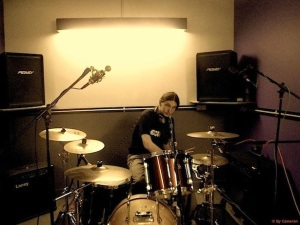 ME AND THE WHITE RABBITS - Drum Recordings For The 1.Studio Album @ Soundhouse Studio UK 2013