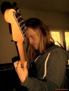 ME AND THE WHITE RABBITS - Guitar Recordings For The 1.Studio Album @ Home Studio Berlin 2014